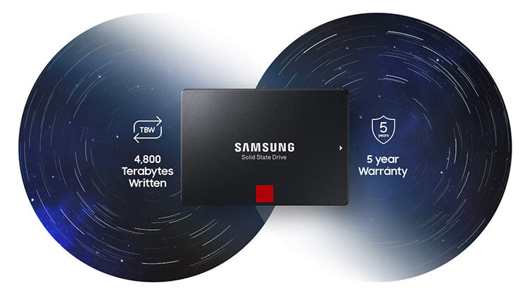 SSD Samsung 860 Pro 256GB MZ-76P256BW