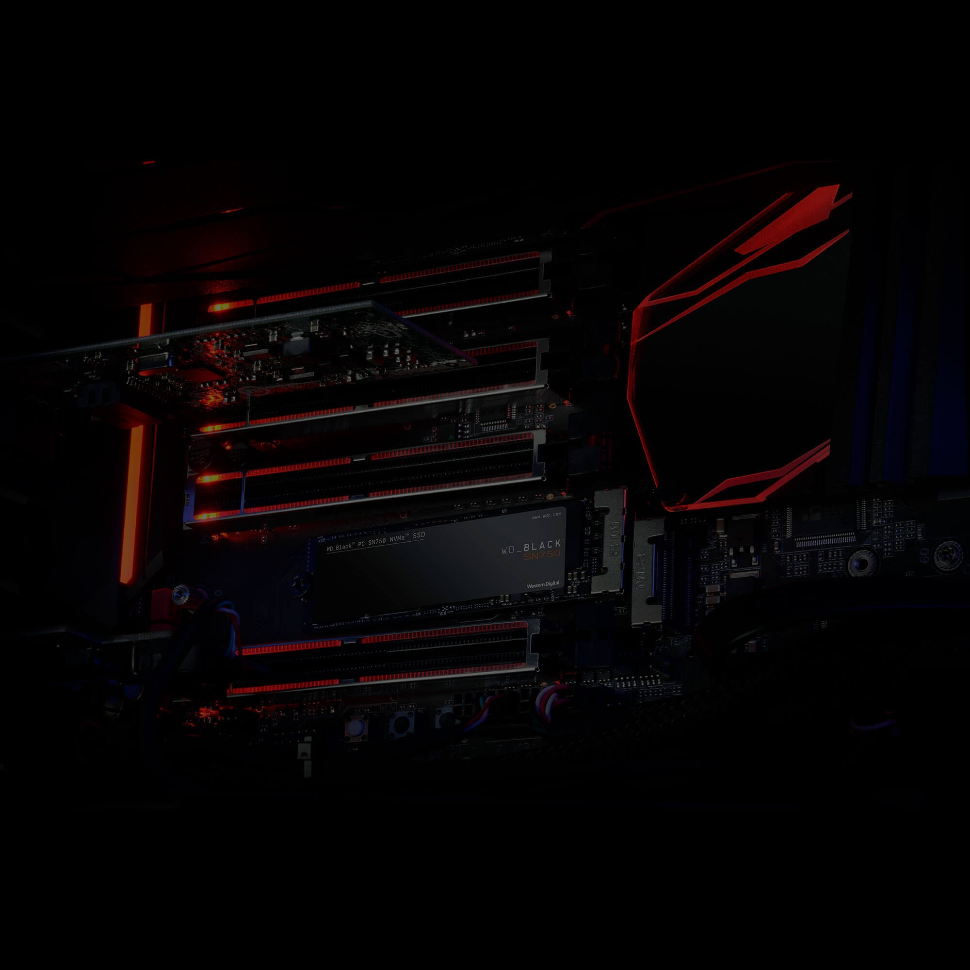 SSD Western Digital Black SN750 PCIe Gen3 x4 NVMe M.2 250GB WDS250G3X0C